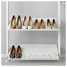 ЭЛВАРЛИ Полка для обуви, белый, 80x36 см, фото 3