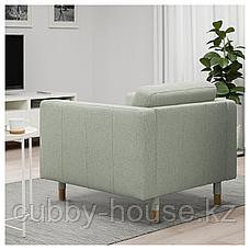 ЛАНДСКРУНА Кресло, Гуннаред светло-зеленый/дерево, фото 2