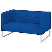 КНОППАРП 2-местный диван, Книса светло-серый