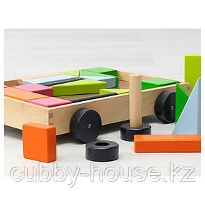 МУЛА 24 кубика с тележкой, фото 2