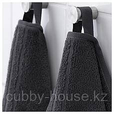 ВОГШЁН Полотенце, темно-серый, 30x50 см, фото 2