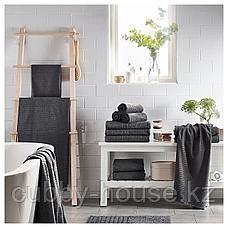 ВОГШЁН Полотенце, темно-серый, 30x50 см, фото 3