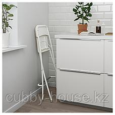 ФРАНКЛИН Стул барный, складной, белый, белый, 63 см, фото 2