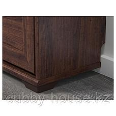 БРУСАЛИ Галошница,3 отделения, коричневый, 61x130 см, фото 2