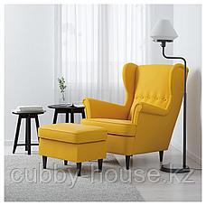 СТРАНДМОН Табурет для ног, Шифтебу желтый, фото 2