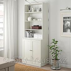 ХАВСТА Комбинация д/хранения, белый, 81x47x212 см, фото 3