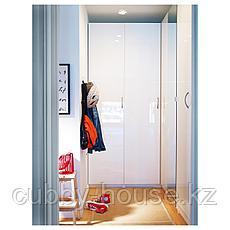 ФАРДАЛЬ Дверь, глянцевый белый, 50x195 см, фото 3