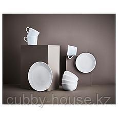 ФЛИТИГХЕТ Тарелка глубокая, белый, 22 см, фото 3