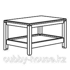 ХАВСТА Журнальный стол, белый, 75x60 см, фото 3