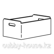 БЕСТО Коробка, серый, 32x51x21 см, фото 2