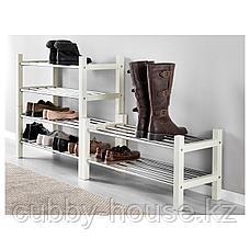 ЧУСИГ Полка для обуви, белый, 79 см, фото 3