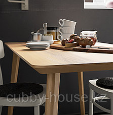 ЛИСАБО Стол, ясеневый шпон, 140x78 см, фото 2