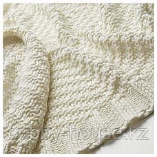 ЭННИАНН Плед, белый, 130x170 см, фото 2