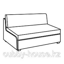 СВЭНСТА 2-местный диван-кровать, черный, фото 3