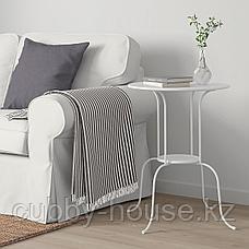 ЛИНДВЕД Придиванный столик, белый, 50x68 см, фото 3