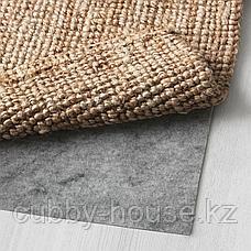 ЛОХАЛЬС Ковер безворсовый, неокрашенный, 200x300 см, фото 2