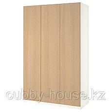РЕПВОГ Дверь, дубовый шпон, беленый, 50x229 см, фото 3