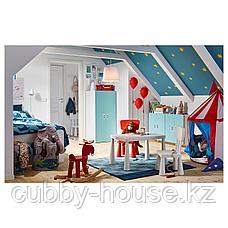 МАММУТ Стол детский, д/дома/улицы белый, 77x55 см, фото 2