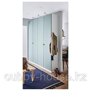 РЕИНСВОЛЛ Дверца с петлями, серо-зеленый, 50x229 см, фото 2