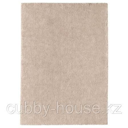 СТОЭНСЕ Ковер, короткий ворс, белый с оттенком, 133x195 см, фото 2