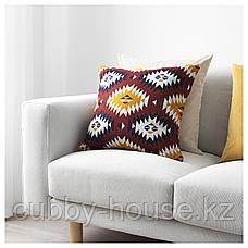 ФРАНСИНЕ Чехол на подушку, разноцветный, 50x50 см, фото 3