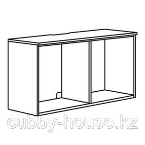 ПЛАТСА Тумба под ТВ, белый, 120x42x42 см, фото 2