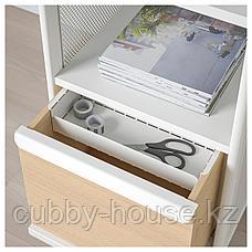 БЕКАНТ Модуль для хранения, на ножках, сетка белый, 41x101 см, фото 2