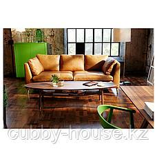 СТОКГОЛЬМ Журнальный стол, шпон грецкого ореха, 180x59 см, фото 3