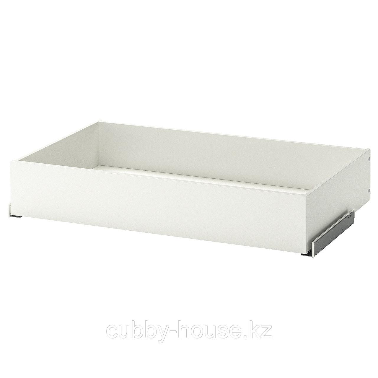 КОМПЛИМЕНТ Ящик, белый, 100x35 см