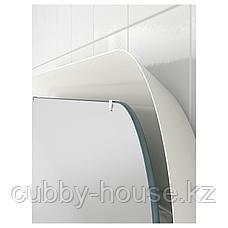 СТОРЙОРМ Зеркало с подсветкой, белый, 80x60 см, фото 2