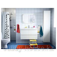 СТОРЙОРМ Зеркало с подсветкой, белый, 80x60 см, фото 3