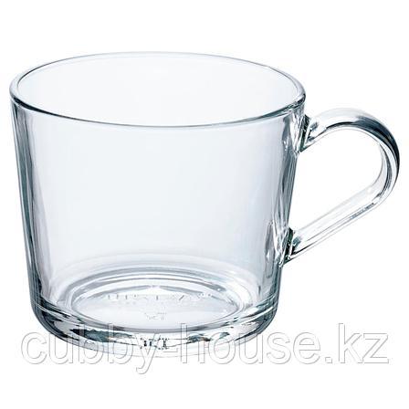 ИКЕА/365+ Кружка, прозрачное стекло, 36 сл, фото 2