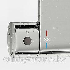 БРОГРУНД Термостатический смеситель д/душа, хромированный, 150 мм, фото 3