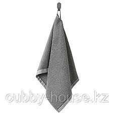 ВИКФЬЕРД Полотенце, серый, 50x100 см, фото 2