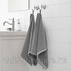 ВИКФЬЕРД Полотенце, серый, 50x100 см, фото 3