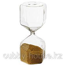 ТИЛЛСЮН Декоративные песочные часы, прозрачное стекло, 16 см, фото 3