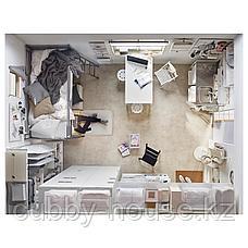 ВАНГСТА Раздвижной стол, белый, 80/120x70 см, фото 3