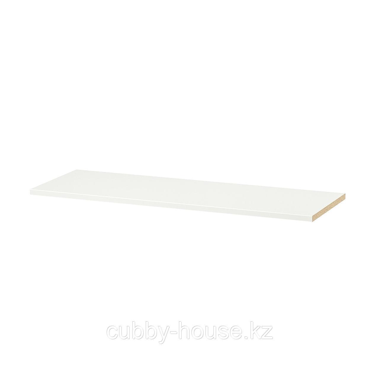 КОМПЛИМЕНТ Полка, белый, 100x58 см
