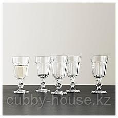 ПОКАЛ Бокал для вина, прозрачное стекло, 20 сл, фото 3