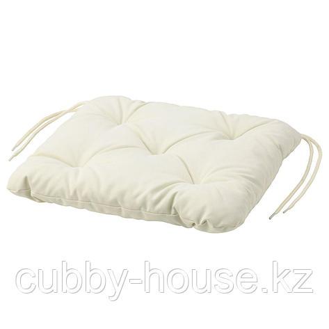 КУДДАРНА Подушка на садовый стул, серый, 36x32 см, фото 2