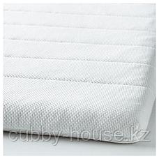 ТАЛЬДЖЕ Тонкий матрас, белый, 140x200 см, фото 2
