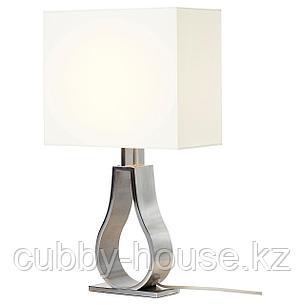 КЛАБ Лампа настольная, белый с оттенком, никелированный, 44 см, фото 2