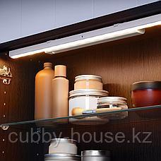 СТЁТТА Подсветка светодиодная, с батарейным питанием белый, 32 см, фото 2