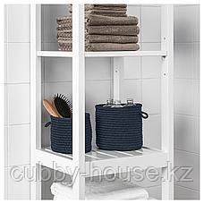 НОРДРЭНА Набор корзин,2 штуки, синий, фото 2