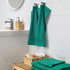 ВОГШЁН Полотенце, темно-зеленый, 30x50 см, фото 3