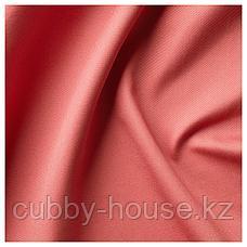 МЕРЕТЕ Затемняющие гардины, 1 пара, светлый коричнево-красный, 145x300 см, фото 3
