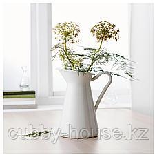 СОККЕРЭРТ Кувшин, белый, 22 см, фото 3