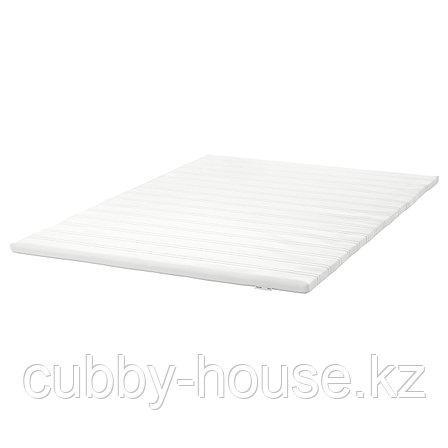 ТЮДДАЛЬ Тонкий матрас, белый, 90x200 см, фото 2
