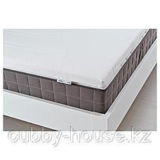 ТЮДДАЛЬ Тонкий матрас, белый, 90x200 см, фото 3