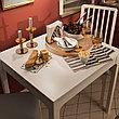 ЭКЕДАЛЕН Раздвижной стол, белый, 80/120x70 см, фото 5